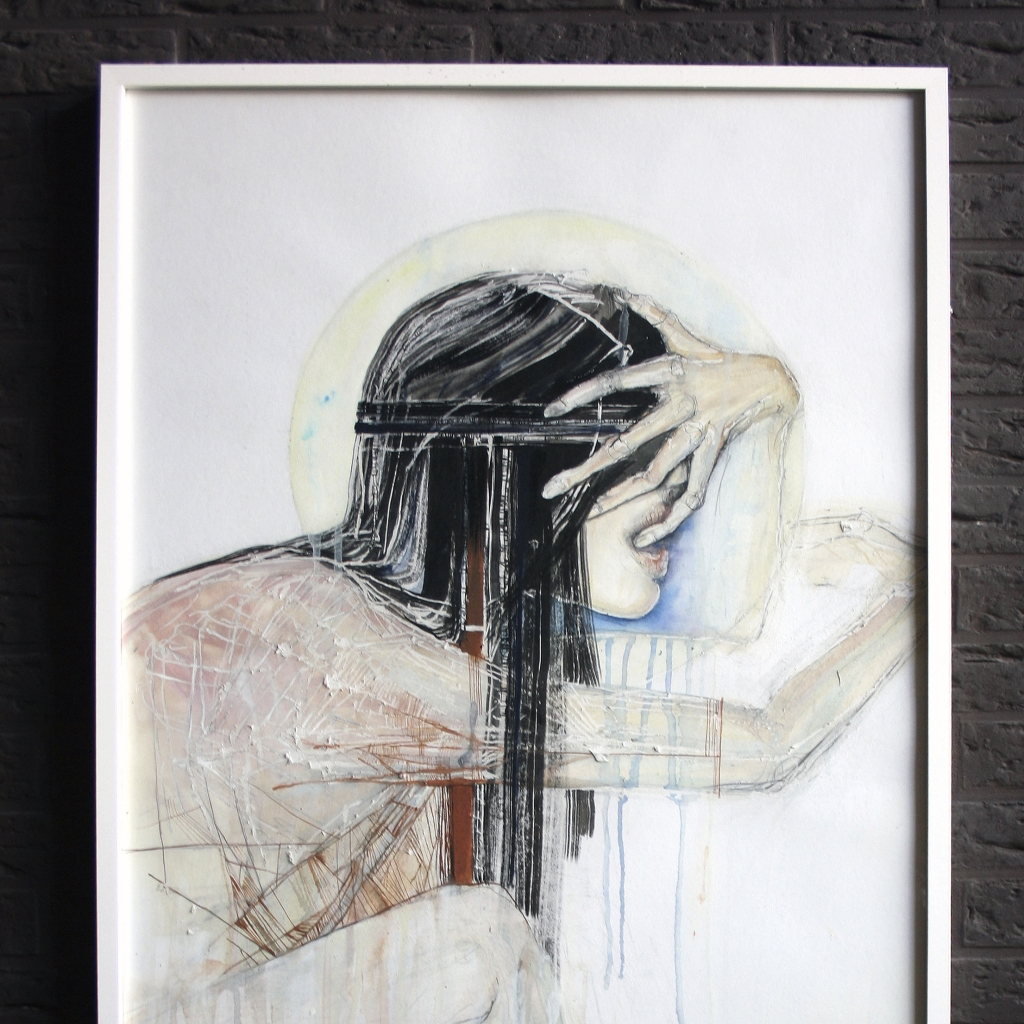 Thirst   Framed painting Studio Poca Uit Het Gareel