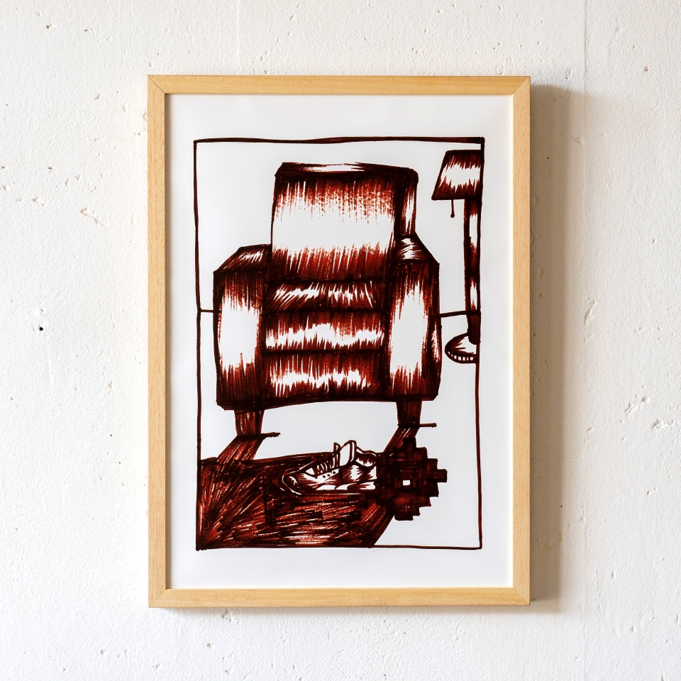 Chair Mwahrk Uit Het Gareel